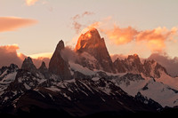 Last Rays at Mount Fitz Roy